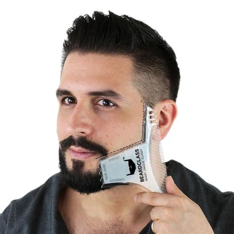 beard shaping tool multi liner beard shaper template comb