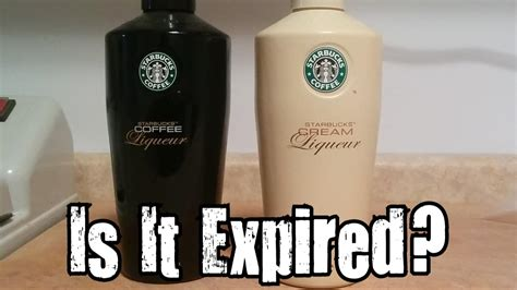 Business insider reports that some starbucks baristas around the country are saying that there's now a shortage of the coffee chain's beloved flavored syrups. Is It Expired? - Starbucks Coffee Liqueur - YouTube