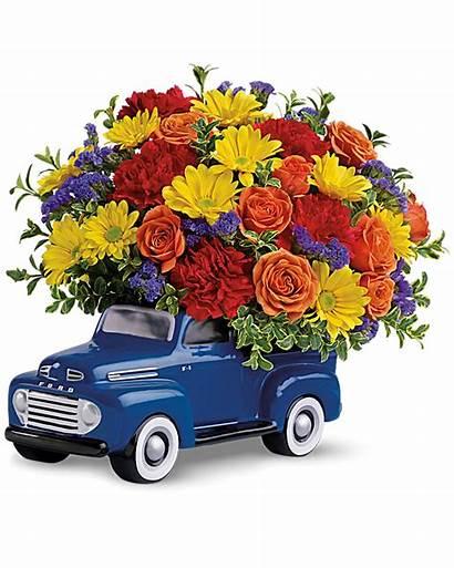 Bouquet Ford Pickup Flower Flowers Orange Order