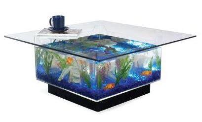 serenity  design aquarium table