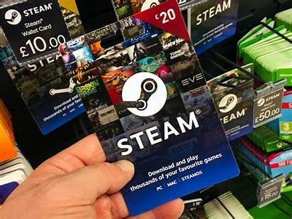 Steam Gift Card Wallet Cards Present Email