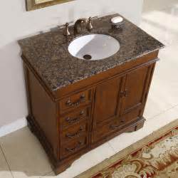 Free Standing Cabinets For Bathroom by 36 Perfecta Pa 135 Bathroom Vanity Single Sink Cabinet