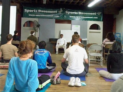 Sports Basement  Free Yoga In San Francisco Ynottonycom
