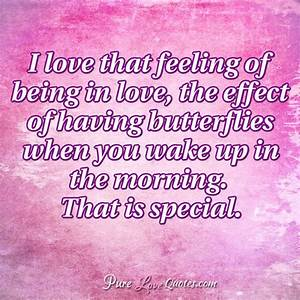 I love that fee... Love Feeling Quotes