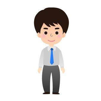 employe de bureau silhouettes gratuites homme icône employé de bureau un