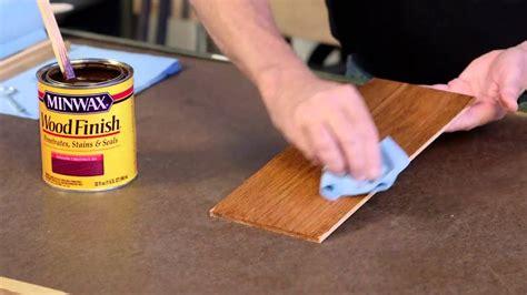 finish wood   easy steps   bruce youtube