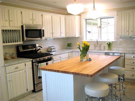 Beadboard Kitchen Cabinets  Cottage  Kitchen Summer