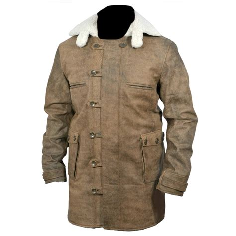 Cowhide Leather Jacket by New Bane Coat Distressed Brown Genuine Cowhide Leather