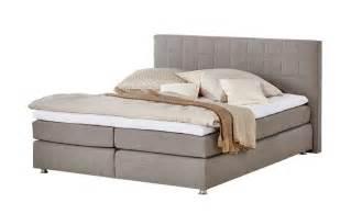 graues schlafzimmer boxspringbett günstig in verschiedenen größen höffner