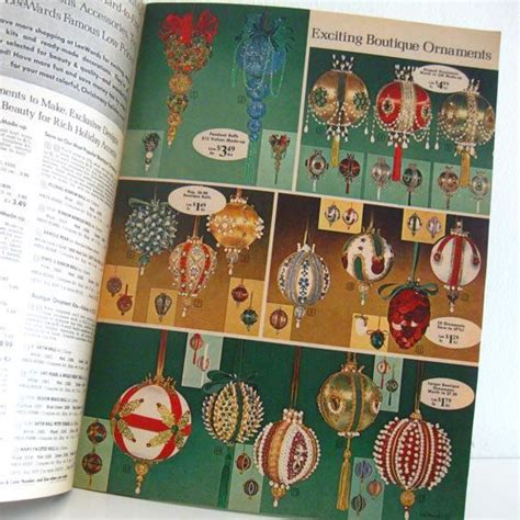 vintage lee wards christmas catalog craft supplies 1960s