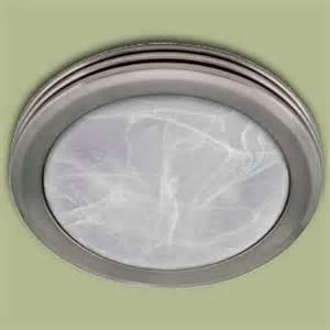 Bathroom Exhaust Fan with Light Fixture