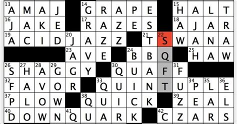 Rex Parker Does The Nyt Crossword Puzzle Acronym For