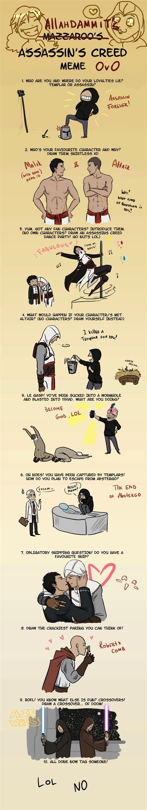 Assassins Creed 4 Memes - assassin s creed meme by allahdammit on deviantart