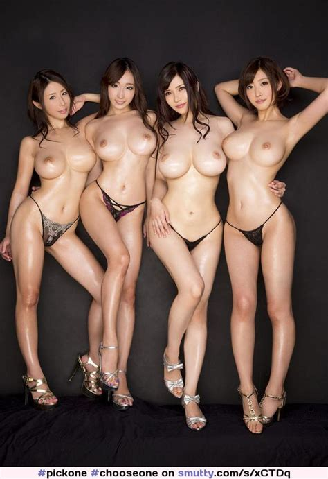 Pickone Chooseone Harem Lineup Asian Topless Toplessasian Toplessasians Fourgirls