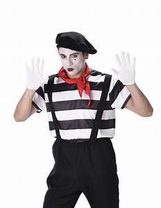 Kostüm Pantomime Damen : pantomime kost m schwarz weiss g nstige faschings kost me bei karneval megastore ~ Frokenaadalensverden.com Haus und Dekorationen
