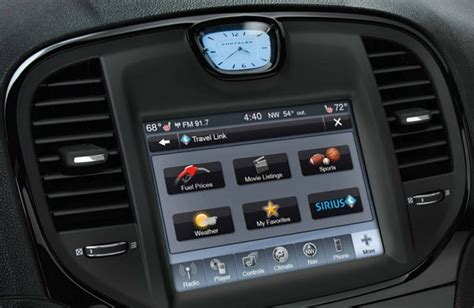 U Connect Chrysler by Interfaccia Per Sistemi Uconnect 8 4 Quot Chrysler 300c