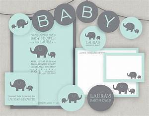 6 Best Images of Elephant Baby Shower Free Printables ...