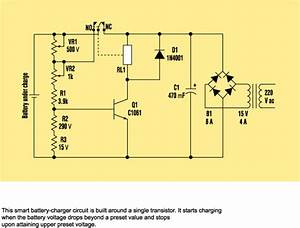 Build A Smart Battery Charger Using A Single