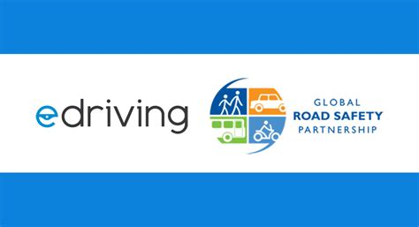 edriving announces global road safety partnership grsp