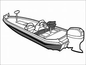 Bass Boat Drawing At Getdrawings