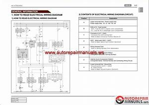 Ssangyong Kyron D130 2007 04 Service Manuals And Electric
