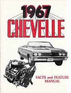 1967 Chevelle  Malibu  El Camino Wiring Diagram Manual Reprint