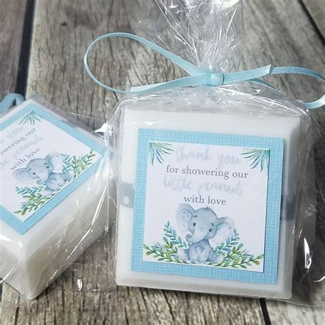 Elephant Baby Shower Supplies - elephant baby shower favors made with soap lalalipsie