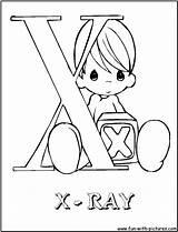 Coloring Pages Ray Preciousmoments Colouring Alphabets Template Sketch Printable sketch template