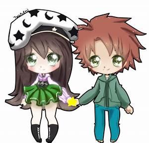 Imgs For > Anime Chibi Couple Hugging | Chibi couple ...
