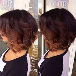 Ombre On Short Dark Hair
