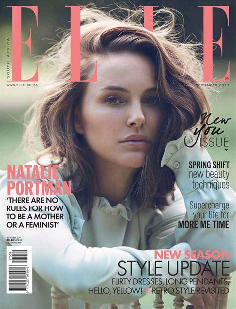 Natalie Portman Elle Magazine South Africa Aeptember