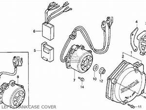 Honda Cr125r 1993  P  Usa Parts List Partsmanual Partsfiche