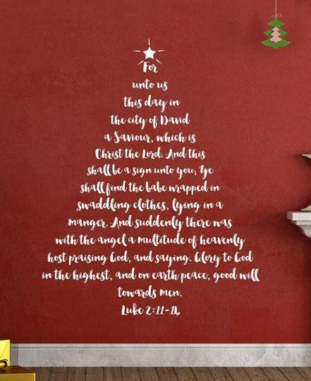 images of christmas trees with scriptures tree scripture wall decal