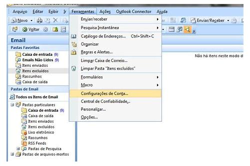 outlook email baixar 2007 locaweb