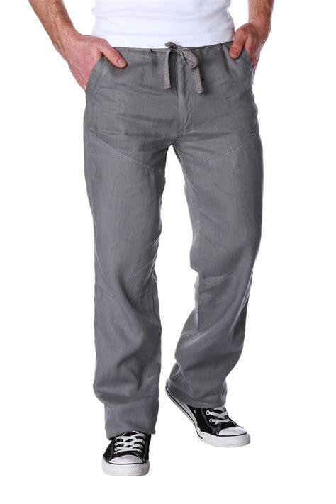 pantalon de cuisine homme pantalon en avec lien de resserrage taille homme