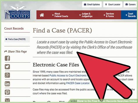 Access Criminal Records Search Records 7 Ways To Do Free Records Searches Wikihow