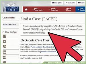 7 ways to do free public records searches online wikihow With how to find court documents for free
