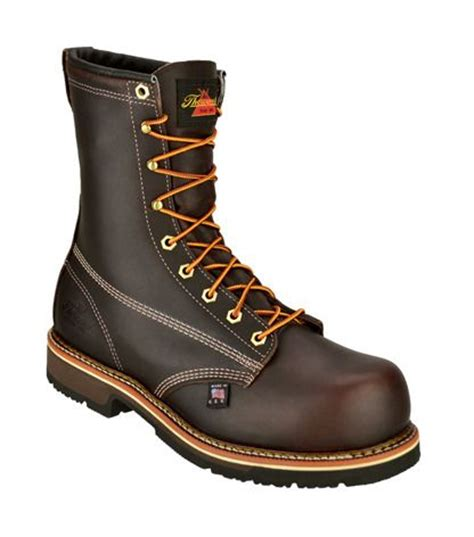safest motorcycle boots thorogood 8 quot plain composite safety toe boots revzilla