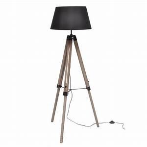 Lampe Halogène Ikea : lampadaire poser nature e27 40 w noir achat vente ~ Melissatoandfro.com Idées de Décoration