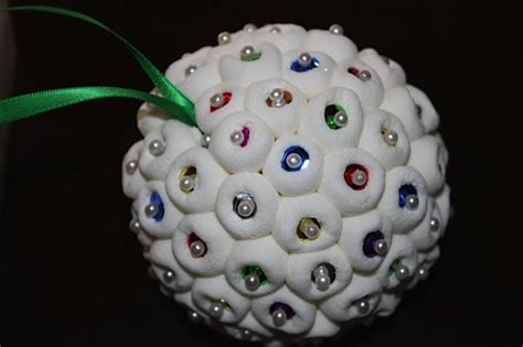 marshmallow christmas ornaments inspire create