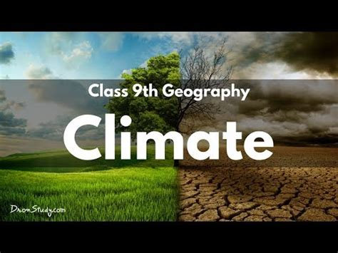 climate cbse class  ix geography youtube