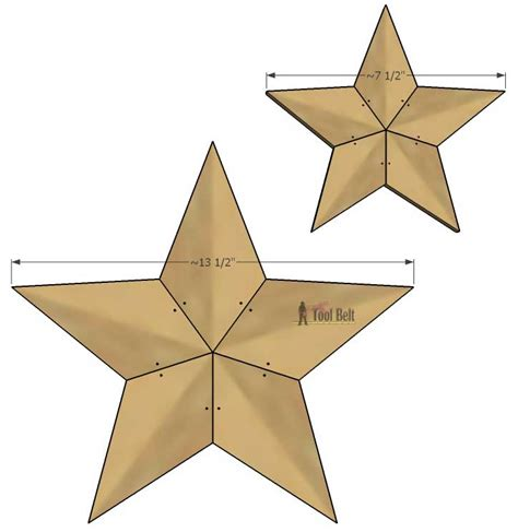 star template for pallet rustic patchwork wood tool belt