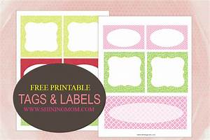 printable tags and labels With free customizable printable labels