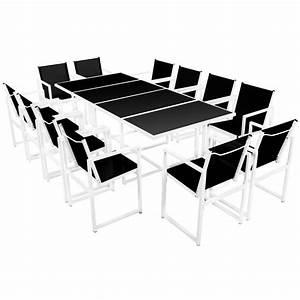 Geschirrset Für 12 Personen : nur esstisch f r 12 personen aluminium interouge ~ Orissabook.com Haus und Dekorationen
