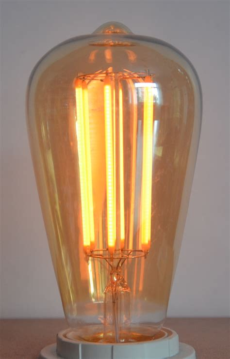 6w led vintage retro squirrel cage dimmable led l bulb