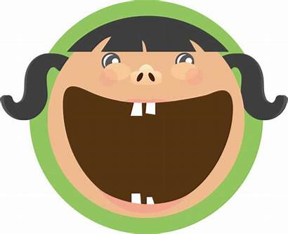Mouth Open Clip Vector Icon Happy Illustrations