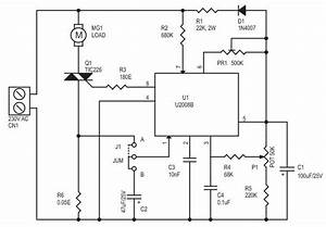 Ac Motor Speed Controller Using U2008b