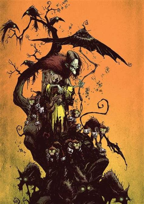 witch wicked characters west domain oz wizard evil wonderful comic skottie young character marvel illustration deviantart books illustrated profile dark