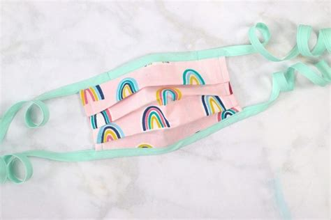 sew  bias tape surgical face mask  flexible