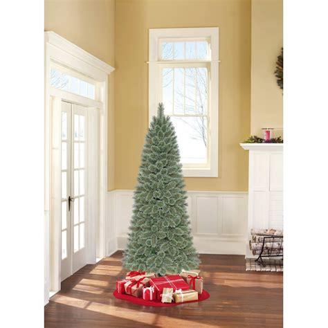 artificial christmas trees at wal mart time unlit 7 elwood pine artificial tree walmart